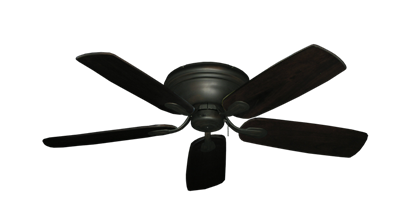 "Picture of Stratus Oil Rubbed Bronze with 52"" Series 710 Arbor Dark Walnut Blades"
