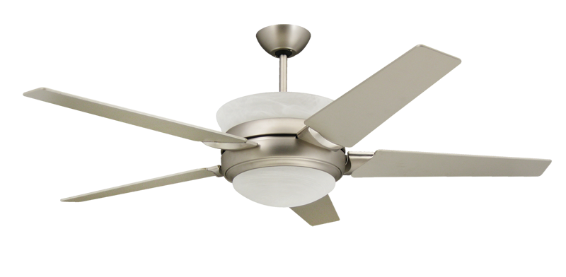 Sunrise 56 in satin steel uplight ceiling fan dans fan city satin steel uplight ceiling fan aloadofball Image collections