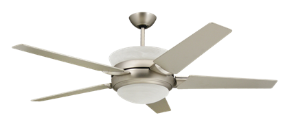 Picture of Sunrise 56 in. Satin Steel Uplight Ceiling Fan