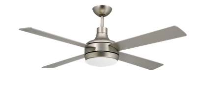 "Picture of Quantum 52"" Satin Steel Ceiling Fan"