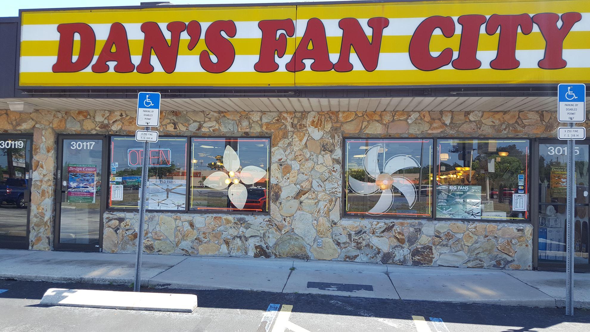 Dan S Fan City Clearwater Dan S Fan City 169 Ceiling